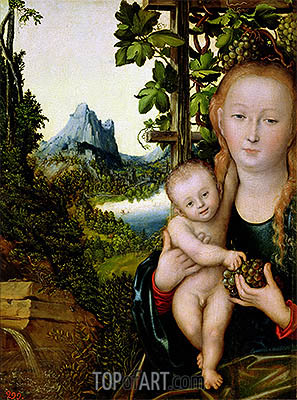 Lucas Cranach | Virgin and Child, c.1520