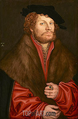 Lucas Cranach | Portrait of Moritz Buchner, 1518
