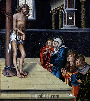 Lucas Cranach | Christ at the Column, 1515