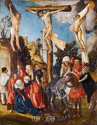 The Crucifixion of Christ, 1501 | Lucas Cranach| Painting Reproduction