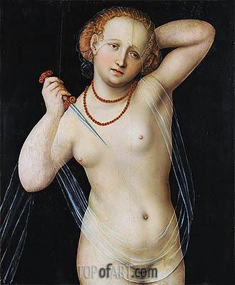 Lucretia, c.1525 | Lucas Cranach | Gemälde Reproduktion