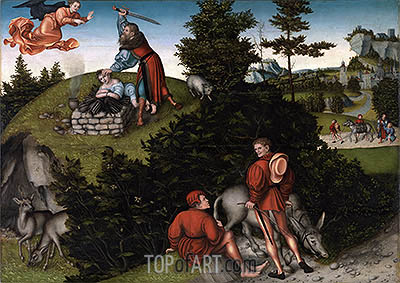 Lucas Cranach | The Sacrifice of Abraham, 1530