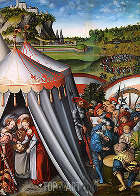 The Death of Holofernes, 1531 | Lucas Cranach | Painting Reproduction