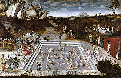 The Fountain of Youth, 1546 | Lucas Cranach | Painting Reproduction