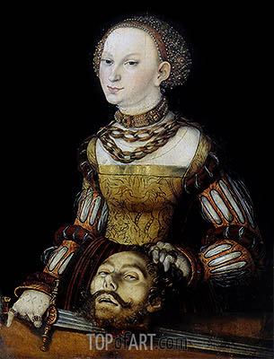 Judith, 1531 | Lucas Cranach | Painting Reproduction
