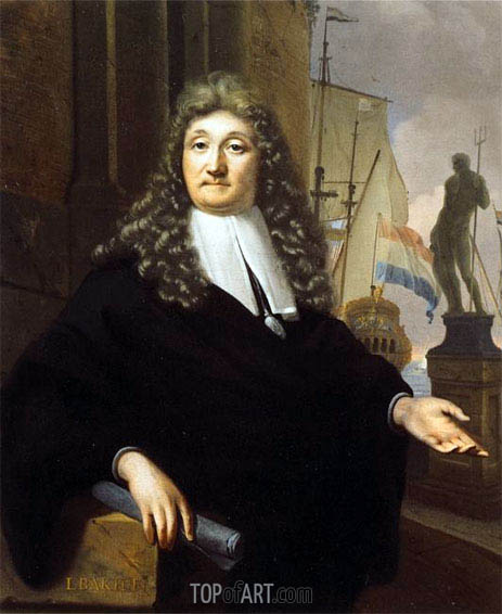 Bakhuysen | Self Portrait, 1693