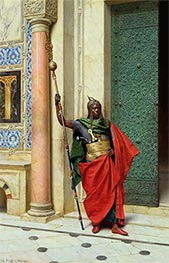 Nubian Guard, 1895 by Ludwig Deutsch | Painting Reproduction