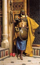 The Palace Guard, 1892 by Ludwig Deutsch | Painting Reproduction