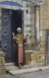 At the Door of the Mosque | Ludwig Deutsch | outdated