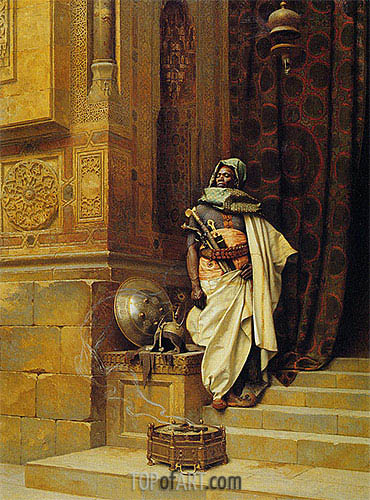 Ludwig Deutsch | The Palace Guard, 1900