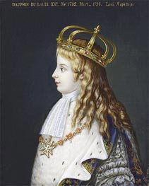 Louis XVII, c.1862 by Luigi Aspetti | Painting Reproduction