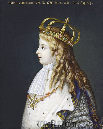 Louis XVII, c.1862 | Luigi Aspetti | Painting Reproduction
