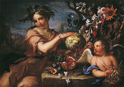Luigi Garzi | Allegory of Autumn, undated