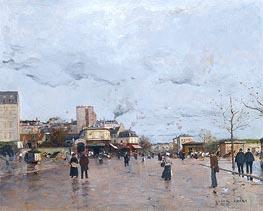 The Porte de Chatillon, Paris | Luigi Loir | Painting Reproduction