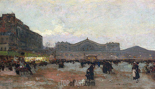 Luigi Loir | The Gare de l'Est, undated