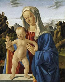 Madonna with Child, c.1500 by Marco Basaiti | Painting Reproduction