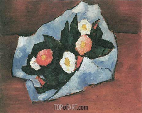 Wild Roses, 1942 | Marsden Hartley | Painting Reproduction