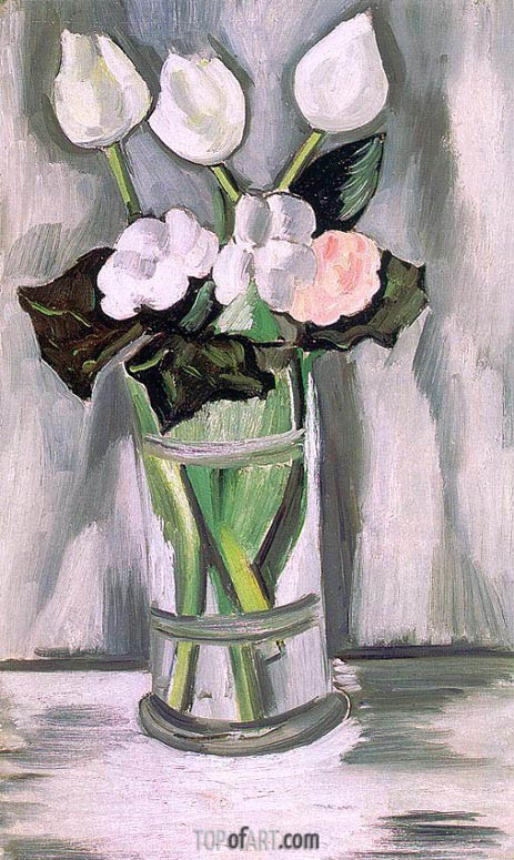 Fleurs d'Orphee, 1928 | Marsden Hartley | Painting Reproduction