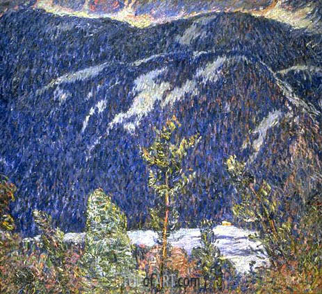 The Summer Camp, Blue Mountain, c.1909 | Marsden Hartley | Gemälde Reproduktion