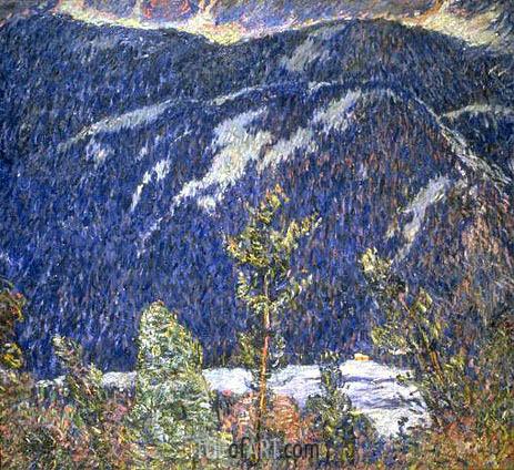 Marsden Hartley | The Summer Camp, Blue Mountain, c.1909