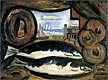 New England Sea View - Fish House | Marsden Hartley