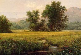 The Meadow, c.1871/75 by Martin Johnson Heade | Painting Reproduction