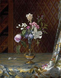 Vase of Mixed Flowers, c.1872 by Martin Johnson Heade | Painting Reproduction