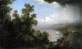 Coast of Jamaica, 1874 by Martin Johnson Heade | Painting Reproduction