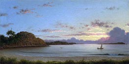 Dawn, 1862 by Martin Johnson Heade | Painting Reproduction