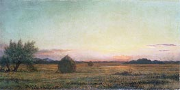 Jersey Meadows, Undated by Martin Johnson Heade | Painting Reproduction