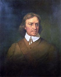 Oliver Cromwell, 1865 by Martin Johnson Heade | Painting Reproduction