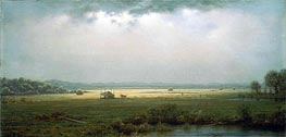 Newburyport Marshes, c.1866/76 by Martin Johnson Heade | Painting Reproduction