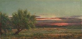 Newburyport, Massachusetts, c.1880/90 by Martin Johnson Heade | Painting Reproduction