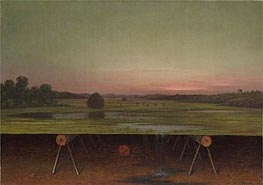Gremlin in the Studio II, c.1865/75 by Martin Johnson Heade | Painting Reproduction