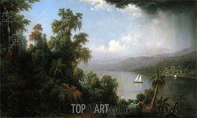 Coast of Jamaica, 1874 | Martin Johnson Heade | Painting Reproduction