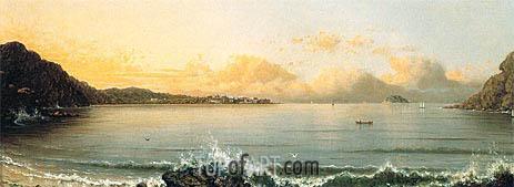 Martin Johnson Heade | Harbor Scene: Rio de Janeiro, 1865