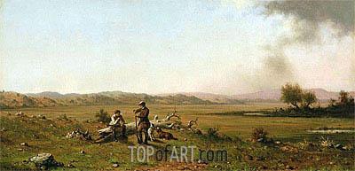 Martin Johnson Heade | Hunters Resting, 1863