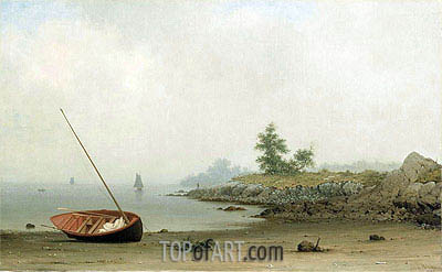 The Stranded Boat, 1863 | Martin Johnson Heade | Painting Reproduction