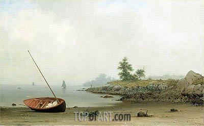 Martin Johnson Heade | The Stranded Boat, 1863