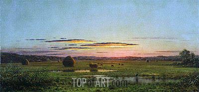 Martin Johnson Heade | Sunset, c.1880
