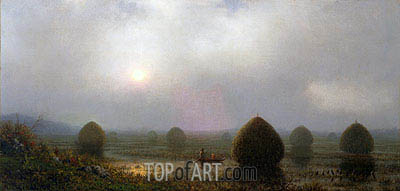The Great Swamp, 1868 | Martin Johnson Heade| Gemälde Reproduktion
