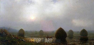 Martin Johnson Heade | The Great Swamp, 1868