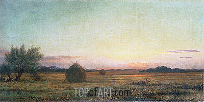 Jersey Meadows,  | Martin Johnson Heade | Gemälde Reproduktion
