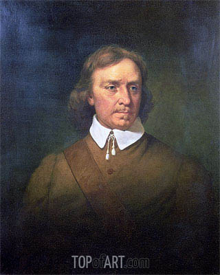 Oliver Cromwell, 1865 | Martin Johnson Heade| Painting Reproduction