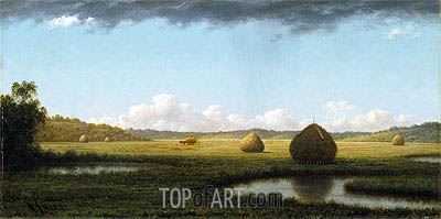 Summer Showers, c.1865/70 | Martin Johnson Heade| Painting Reproduction