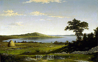 Martin Johnson Heade | Rhode Island Shore, 1858