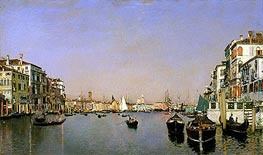 Venice, c.1874 by Martin Rico y Ortega | Painting Reproduction
