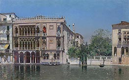 The Ca' d'Oro, undated von Martin Rico y Ortega | Gemälde-Reproduktion