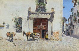 Waiting | Martin Rico y Ortega | Painting Reproduction