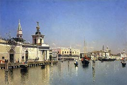 A View of Venice, undated by Martin Rico y Ortega | Painting Reproduction